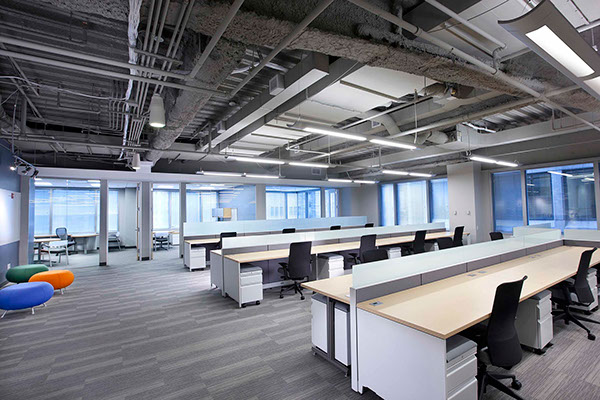 open plan office design policy guidelines