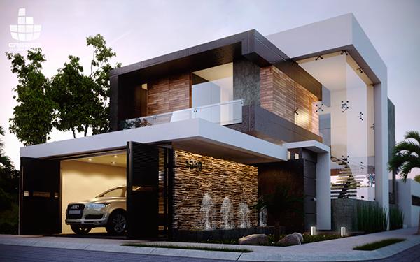 R r on behance for Construcciones minimalistas