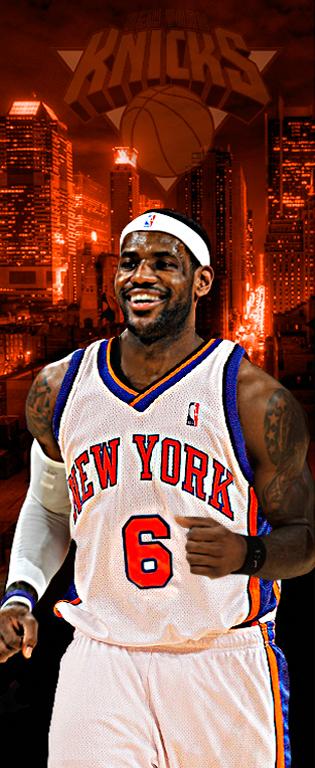 LeBron James- Knicks, Bulls, Cavs, Heat, or Nets? on BehanceLebron James Knicks Uniform