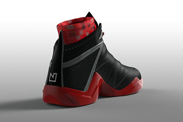 Nate Robinson basketball shoe design on Behance