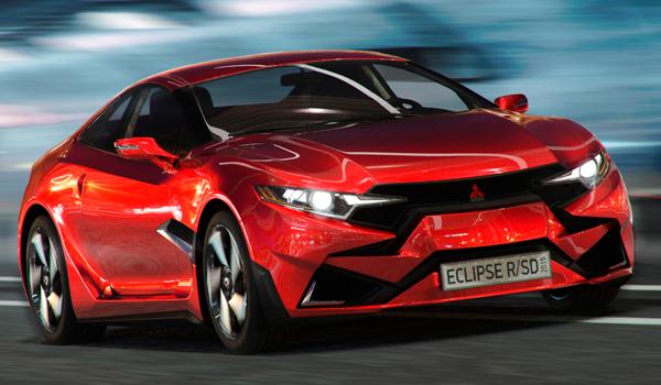 Mitsubishi Eclipse R concept Steel Drake Zhikharev Eduard