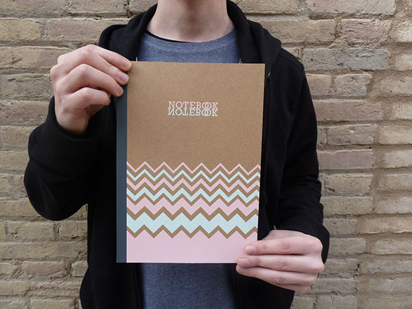 GEOMETRIC COLLECTION. Notebooks