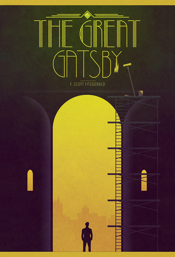 Book Cover Ideas For The Great Gatsby ~ The great gatsby book cover on behance