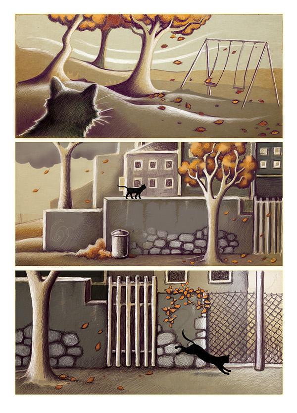 cats gatos novel Grafic Novela grafica comic