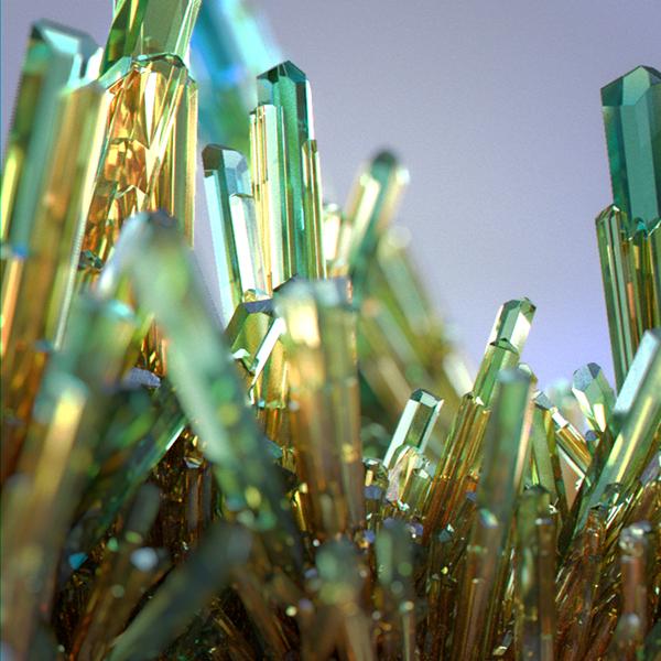 3ds MAX 3dsmax Render crystals debrismaker corona