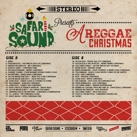 Cd cover a reggae christmas on behance