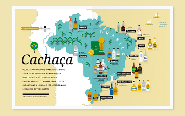 Cachaa brazil world cup panorama on behance gumiabroncs Gallery