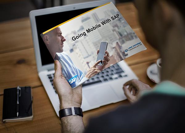print brochure print SAP Mobile app solutions