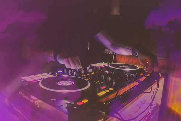Live DJ Music Session Photography