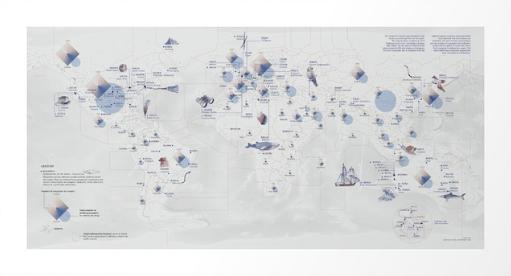 cartography map dataviz DATAVISUALIZATION watercolor drawings infographics flight SKY worldmap texture