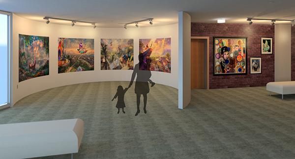 Art gallery on ccs portfolios for Ccs interior design