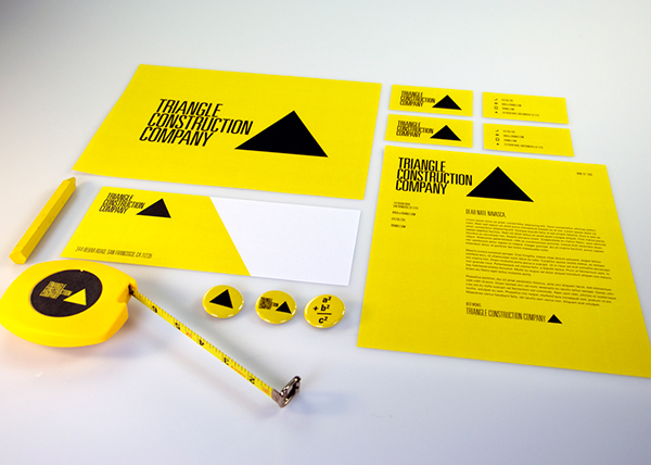 Triangle construction company on behance for Best product design firms