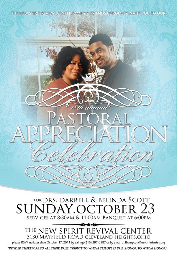 18th Annual Pastoral Appreciation New Spirit Revival Center