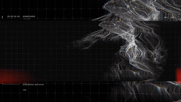 semaphore Audio visual Performance video Mapping architectural Lichtrouten germany generative software art