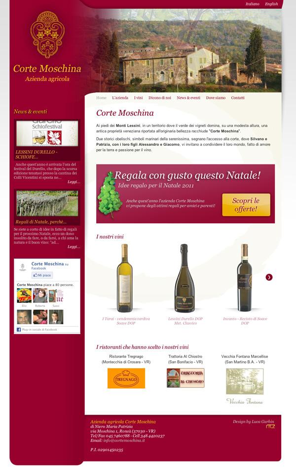 corte moschina Wines