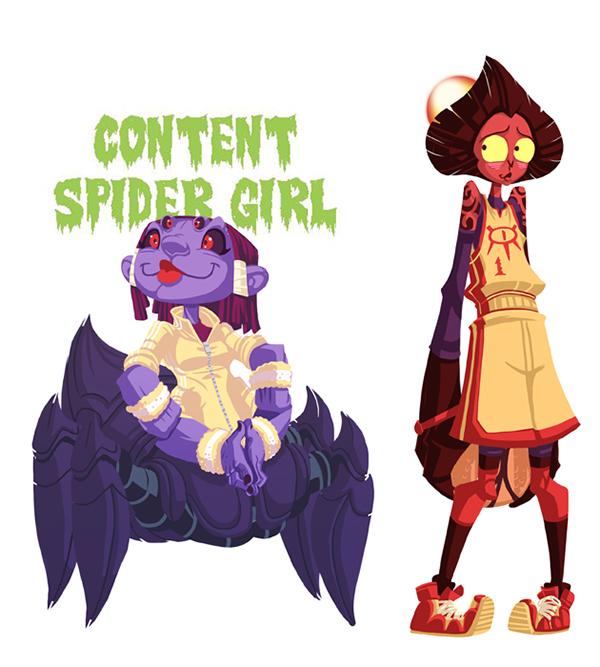 Monster Girl Random Generator Jam on Behance