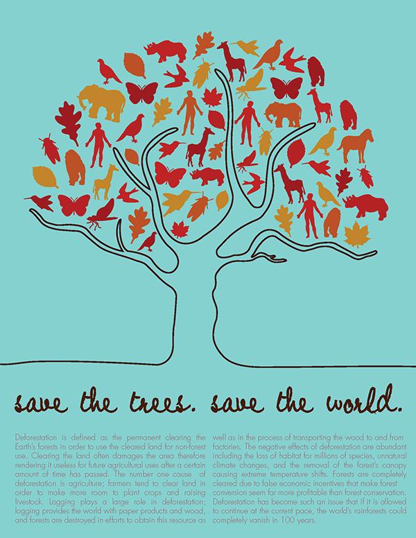 deforestation essay for school