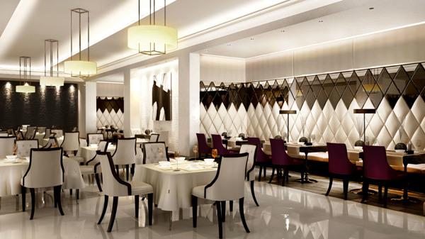 Capital bay restaurant design on behance