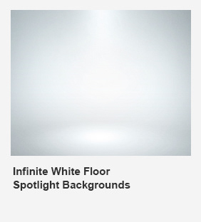 Infinite White Floor Spotlight Backgrounds - 20
