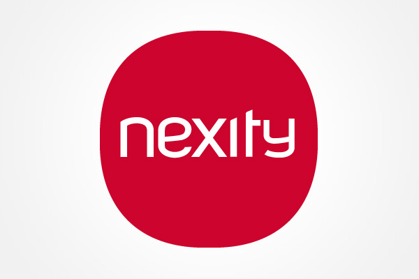 nexity identity and branding on artcenter gallery. Black Bedroom Furniture Sets. Home Design Ideas