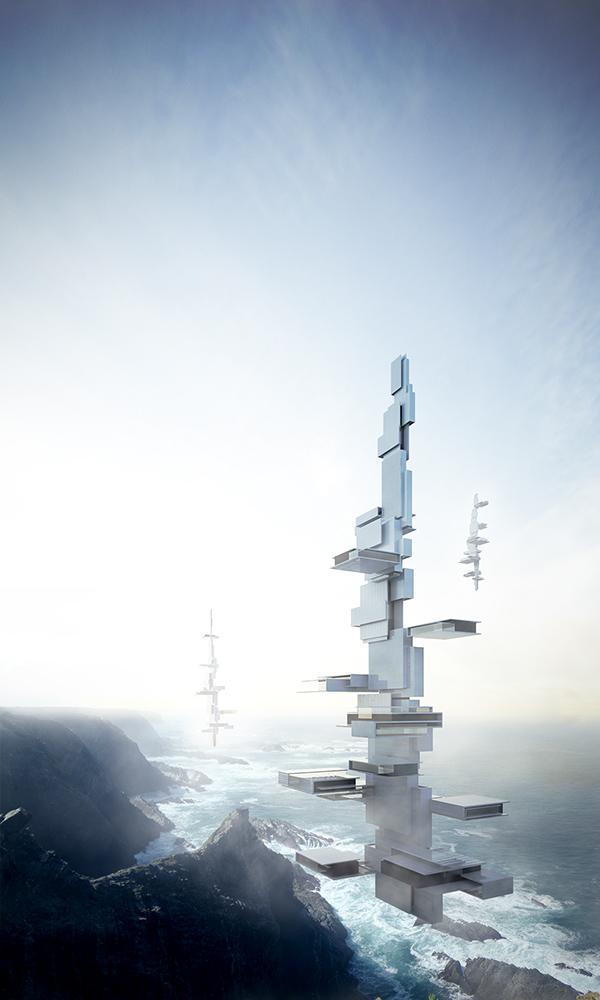 contest flyingarchitecture 3D postproduction