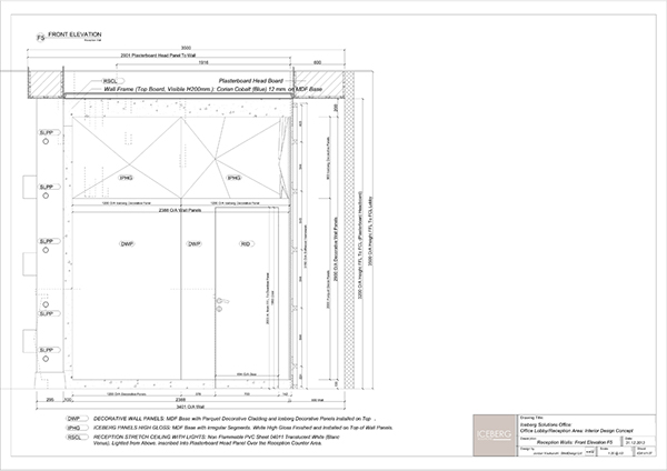 Office Reception Area Interior Design Concept 2013 On Behance