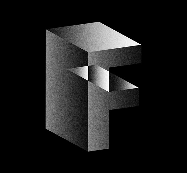 typo type face experimental structure deconstruction contradictory space atypical glitch art