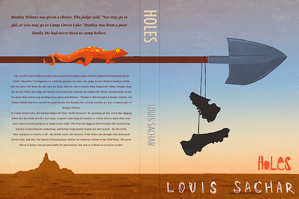 Holes Book Cover Ideas : Louis sachar is an award winning author of t