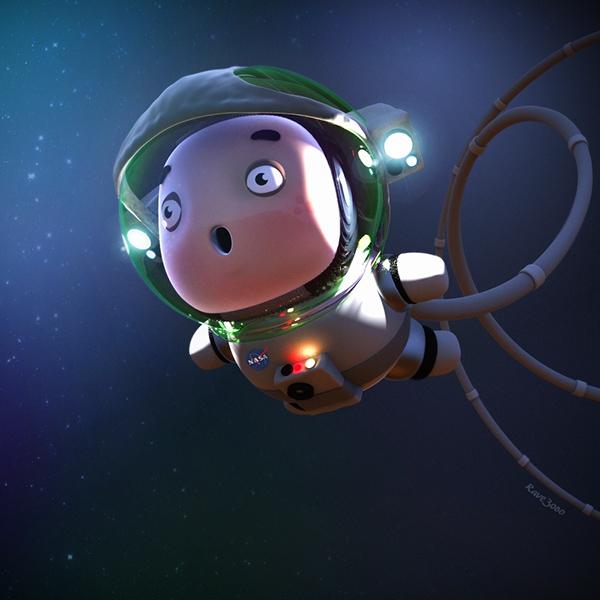 Zbrush Astroboy 3D cartoon