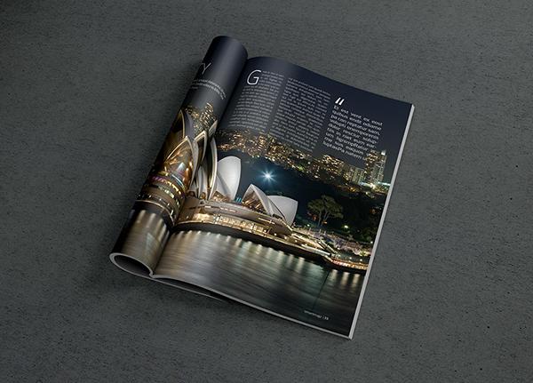 高質量的33個雜誌排版範本欣賞