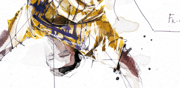 DANCE   sketch ink watercolor pencil energy hip hop Urban art traditional people rap Musique texture