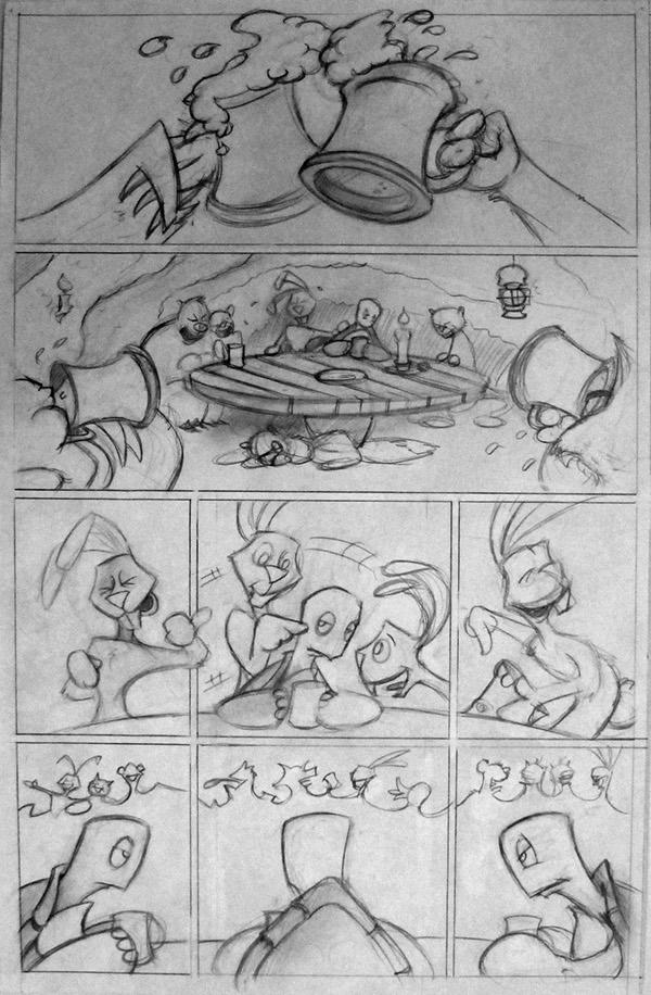 Comics And Storyboard On Risd Portfolios