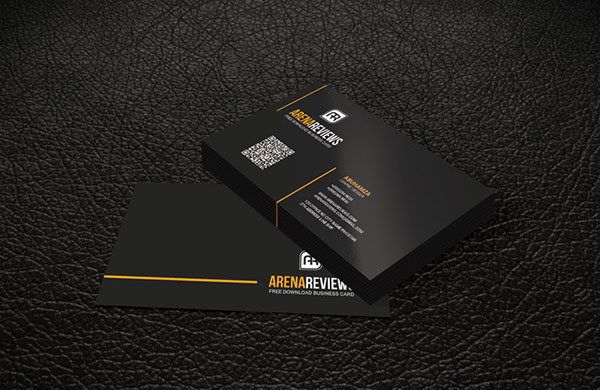 Line Corporate Business Card Template Free On Behance