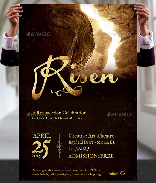 theatre poster template