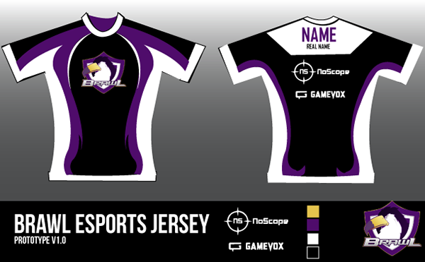 Esport jersey on behance blueprint for brawl esport jersey malvernweather Images