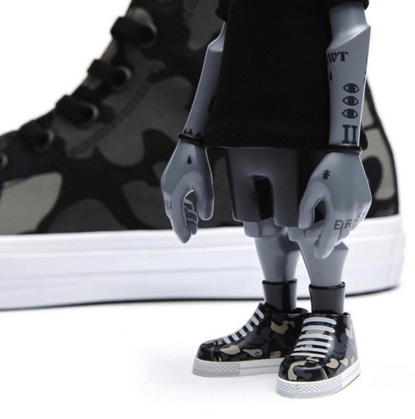 5fcf98515f4045 Converse x Coolrain - Chuck II Limited Edition Set on Behance