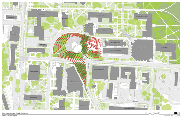 Hillside Auditorium University Of Arkansas On Behance