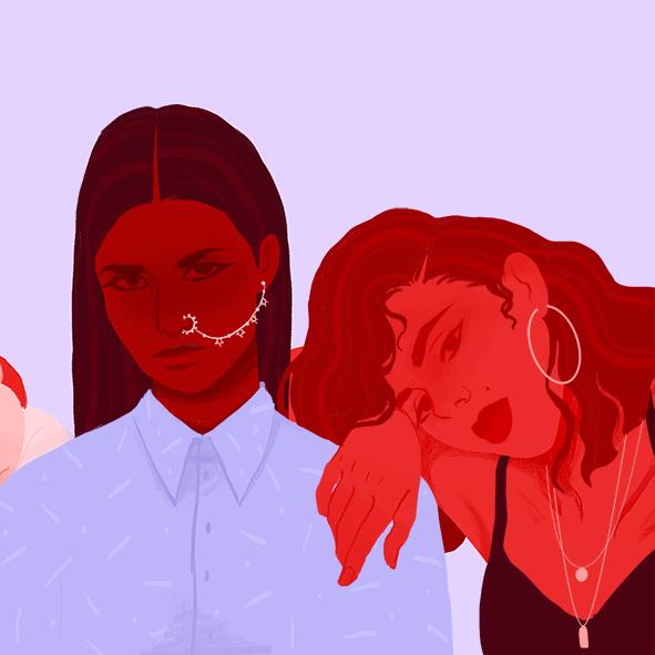 women sisterhood feminism International Women's Day girls supporting girls Diversity friendship sorority girls gang