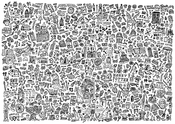 tumblr profile pictures ideas - Harry Potter Illustration on Behance