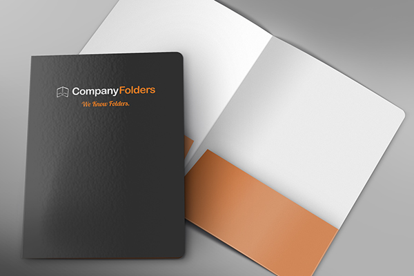 free psd front cover open folder mockup template on behance