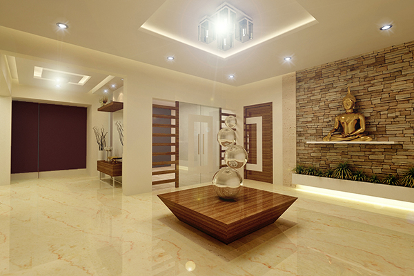 Luxury villa interior new mumbai on behance for Villa interior design pdf