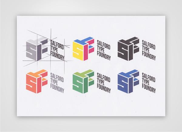 Salford Type Foundry Logo on Behance