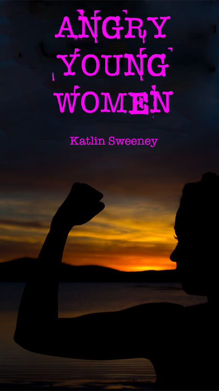 publishing   lighting inVISION book cover story Story telling Syrenia Imagery Katlin Sweeney sweeney feminism feminist sunset silouette Shadows pink