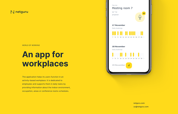 World of Working –An app for activity-based workplaces