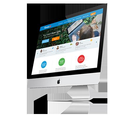 TurboTax Social Widget on Behance