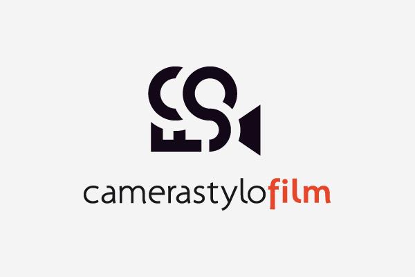 Camera stylo film logo on behance for Camera film logo