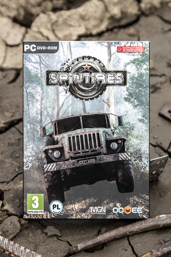 spintires Games game print cover flyer