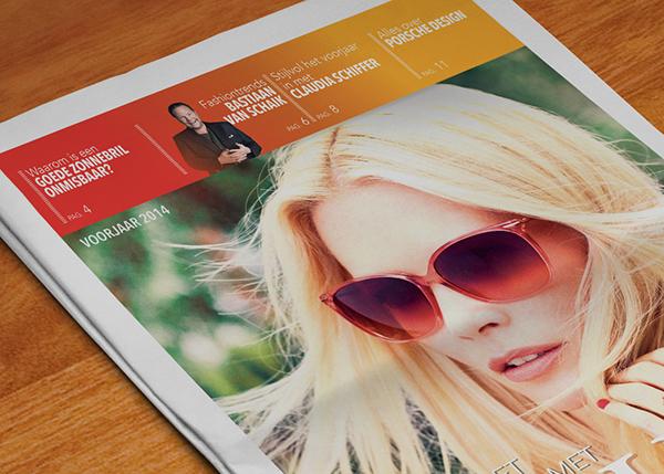 rodenstock jeroen rijpstra newspaper porsche design Claudia Schiffer bastiaan van schaik