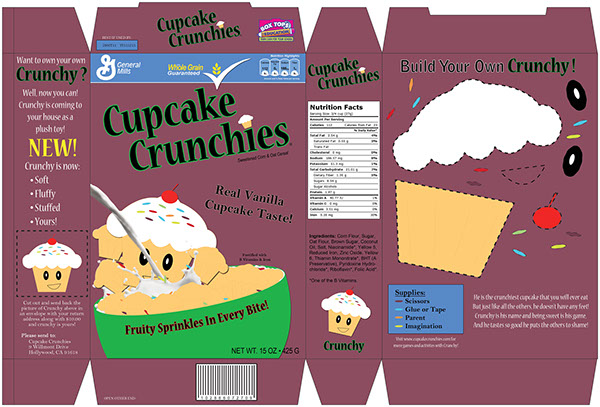 Cereal Box on Behance