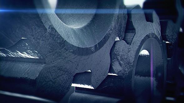 Gear movie Cinema Title trailer hollywood credit film title metal dark epic industry titler Mechanic cinematic